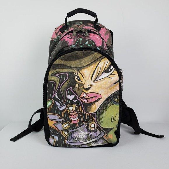 Tatoot Cotton Tattoo Graphic Backpack